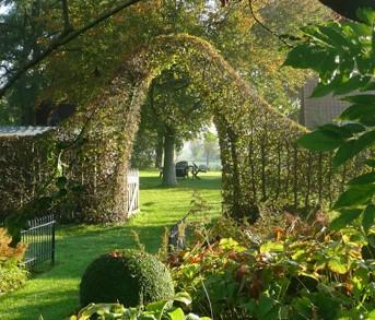 Meirlaenhof for Plan amenagement jardin anglais